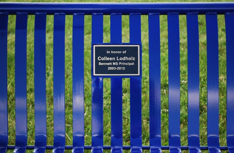 Metal-Memorial-Bench-Principal