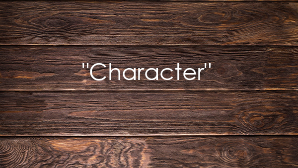 Wood Boards with Character